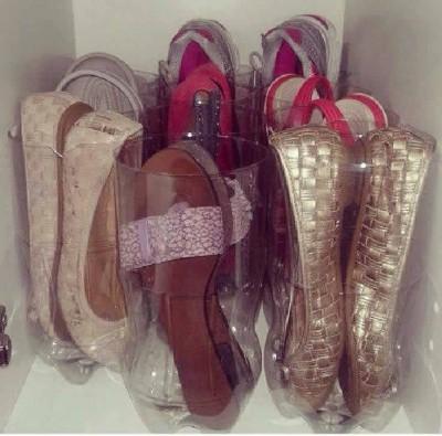 Heky_pet lahev na boty