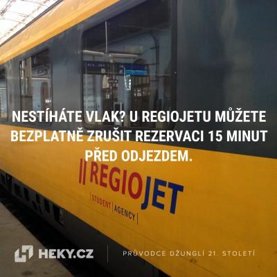 heky-regiojet-storno-rezervace-zruseni-jizdenky-vlak