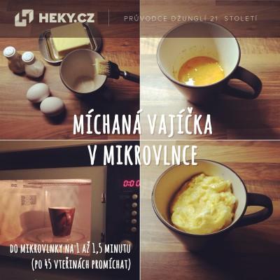 heky_michana vajicka v mikrovlnce