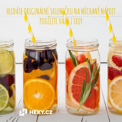 sklenička na míchaný nápoj