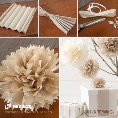 heky-vychytavky-papirova-dekorace