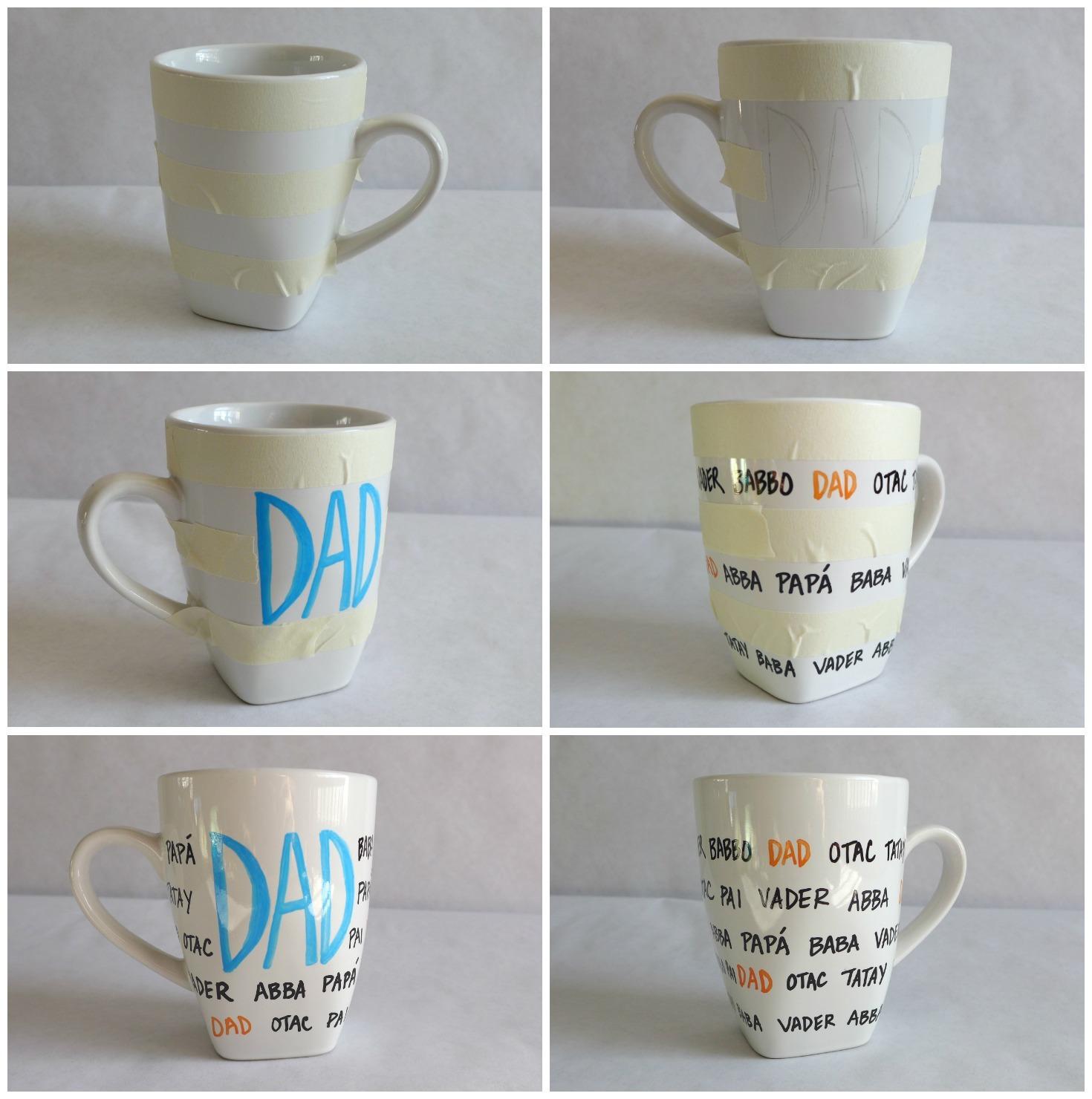 Vychyt vky darujte n padit hrn ek k for Handmade mug designs