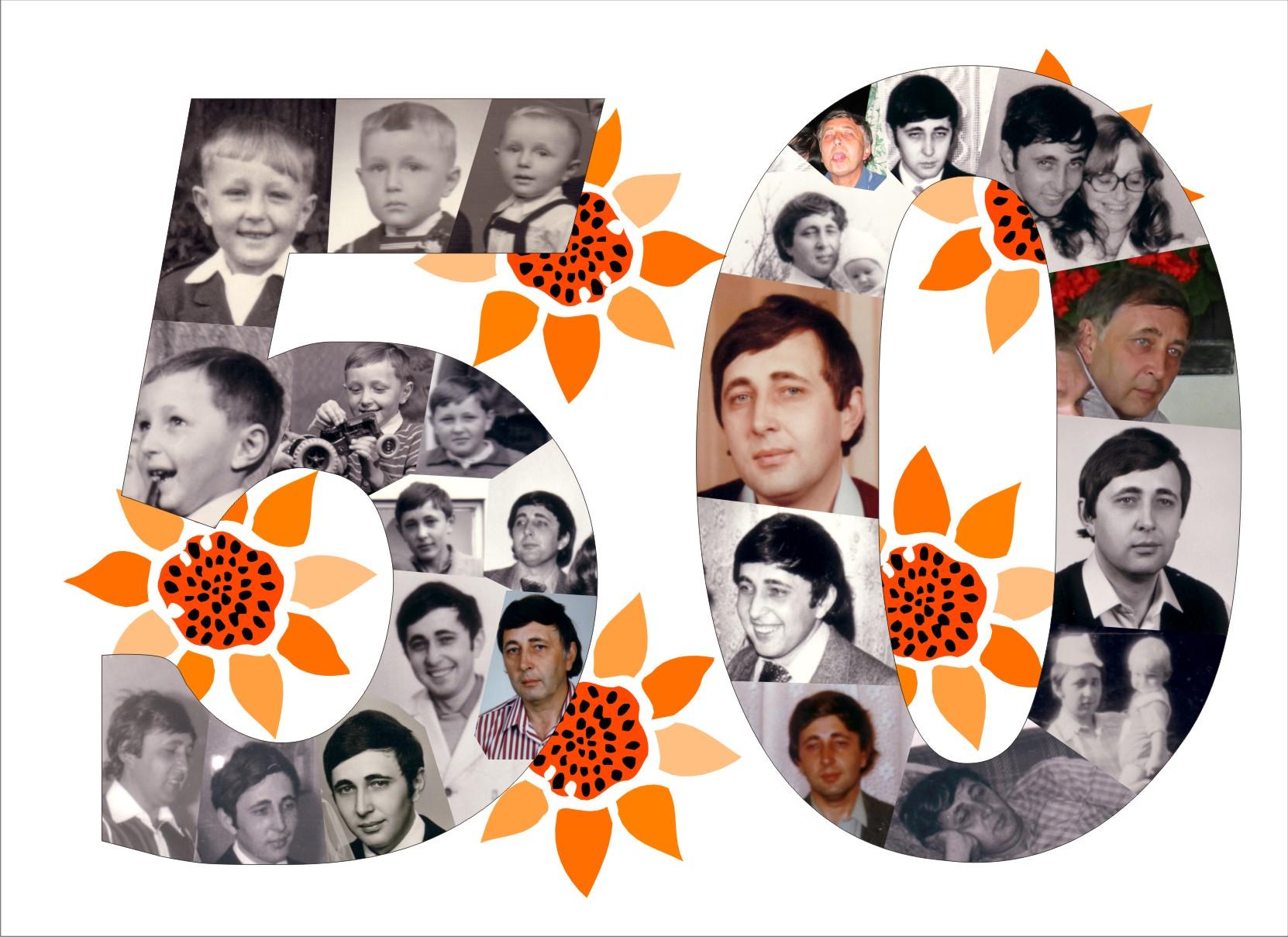 oslava 50 narozenin nápady Heky.cz | Vychytávky | číslice z fotek Archivy   Heky.cz | Vychytávky oslava 50 narozenin nápady