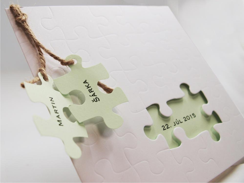 Heky Cz Vychytavky Napadite Svatebni Oznameni S Puzzle Dilky