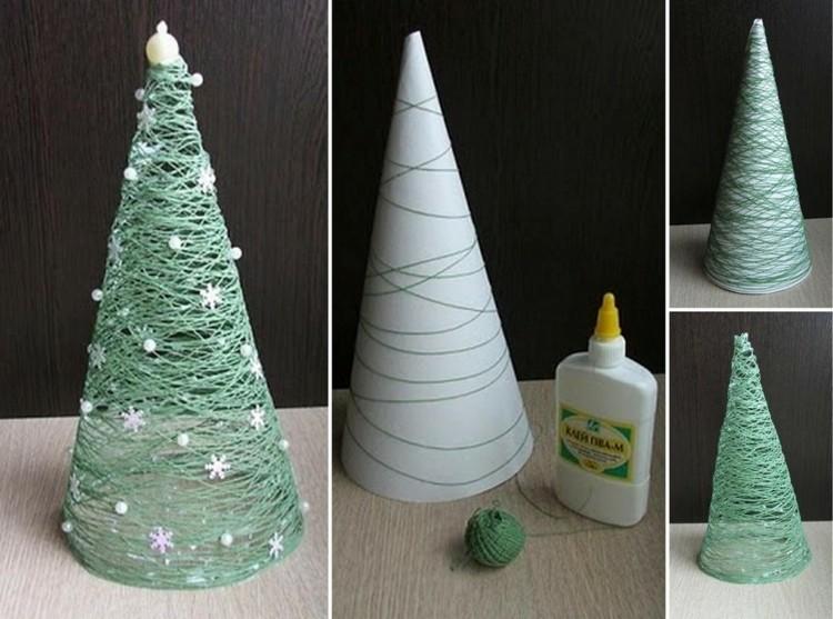 Heky.cz - Vánoční stromeček z provázků