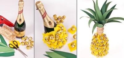 Vytvořte pro láhev s alkoholem kreativní balení
