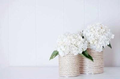 Heky - váza z lýka
