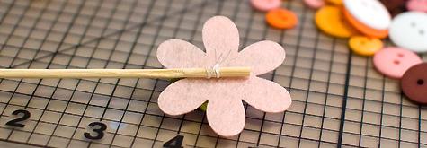 heky-květina postup