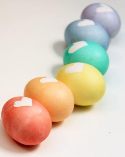 heky- vajíčko se srdíčkem