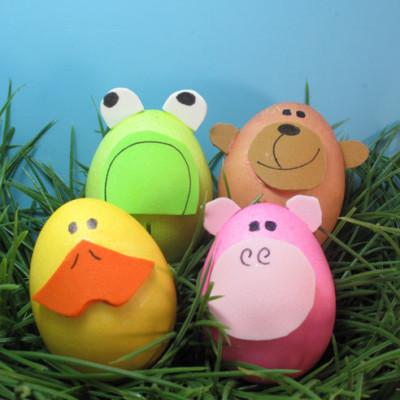 heky-velikonoce vajíčka zvířátka