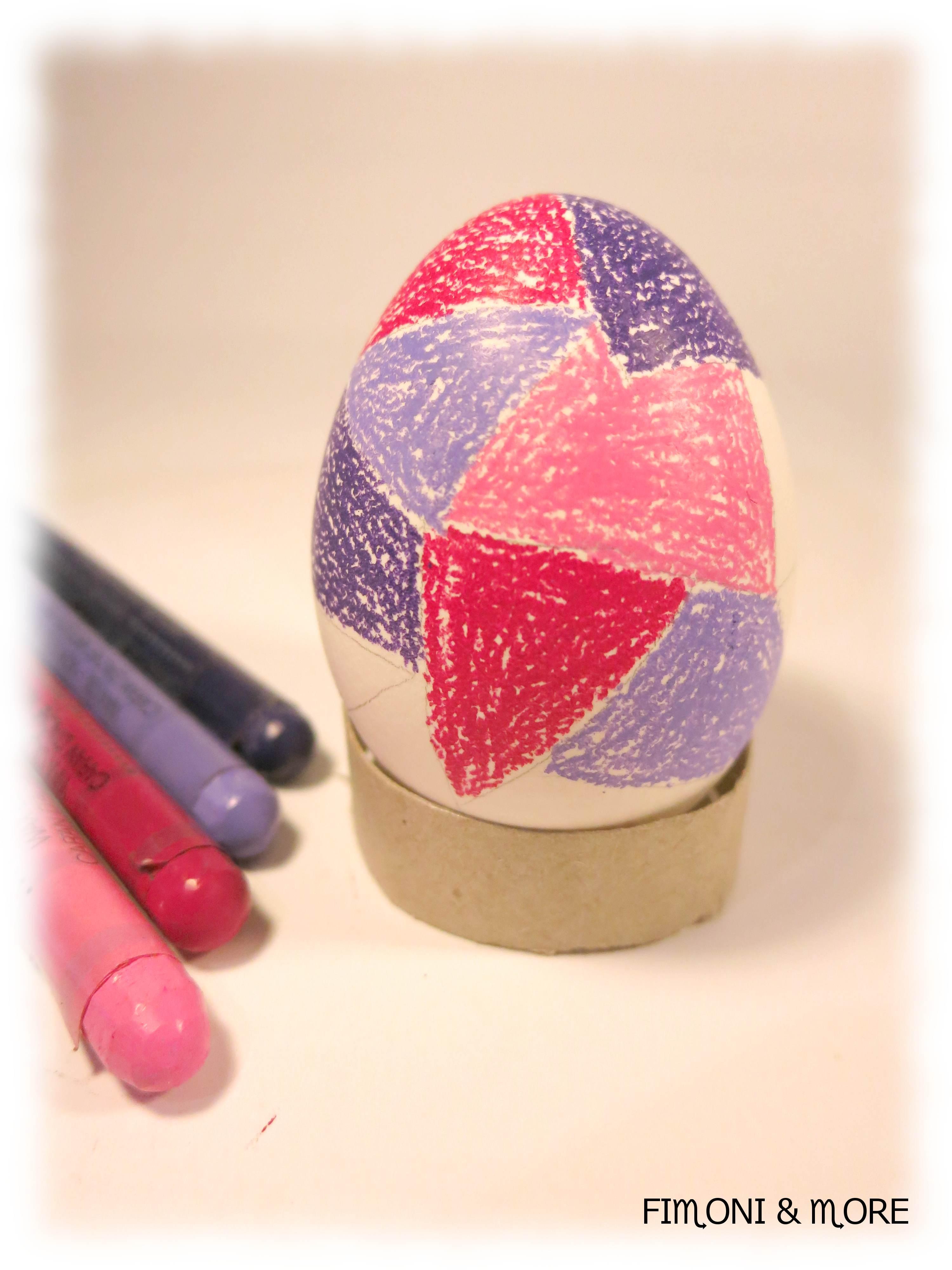 Velikonoční vajíčka malovaná voskovkami-návod2