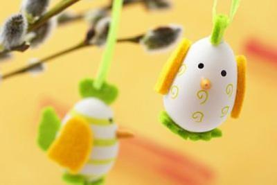 heky-kuřatko velikonoce