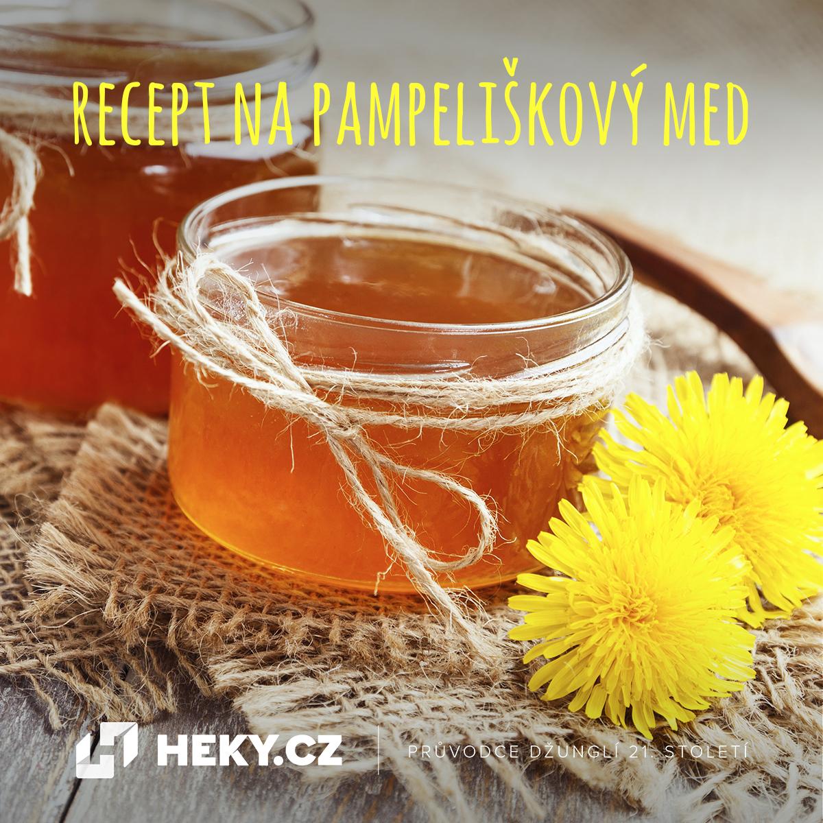 Uvařte si pampeliškový med