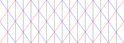 Přeložte papír podle čar.