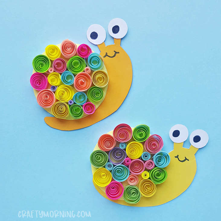 quilled-snail-craft
