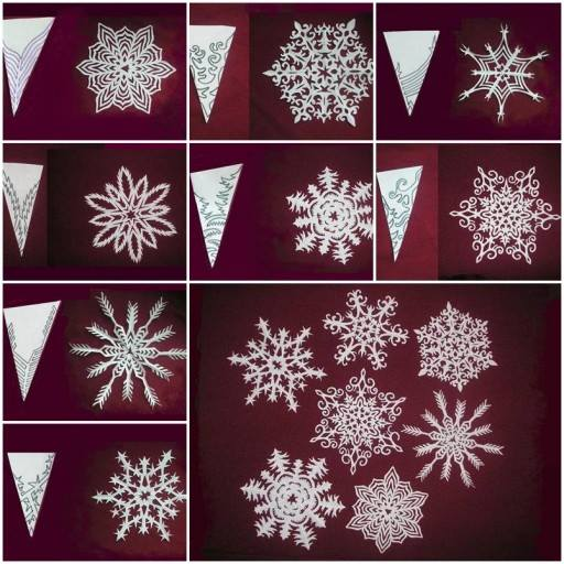 beautiful-kirigami-snowflakes